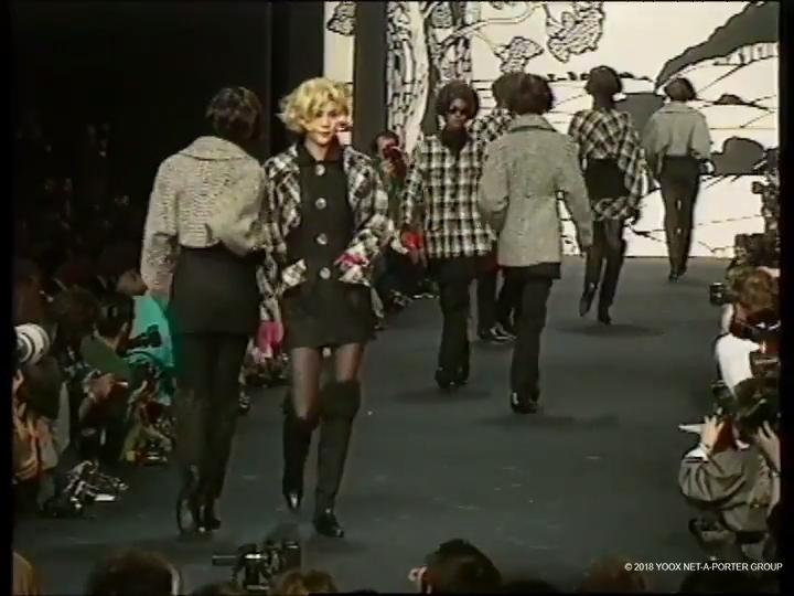 Karl Lagerfeld, Autumn/Winter 1990
