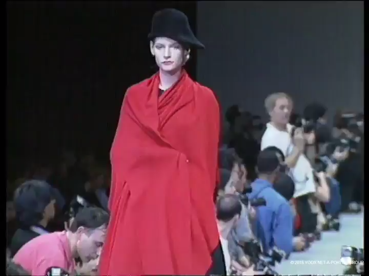 Yohji Yamamoto, Autumn/Winter 1990