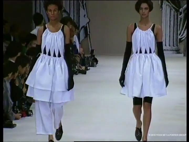 Yohji Yamamoto, Spring/Summer 1991