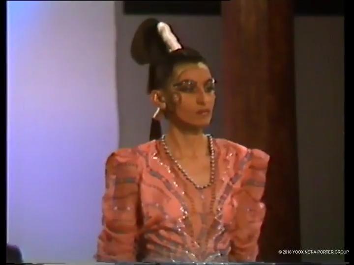 Zandra Rhodes, Spring/Summer 1987