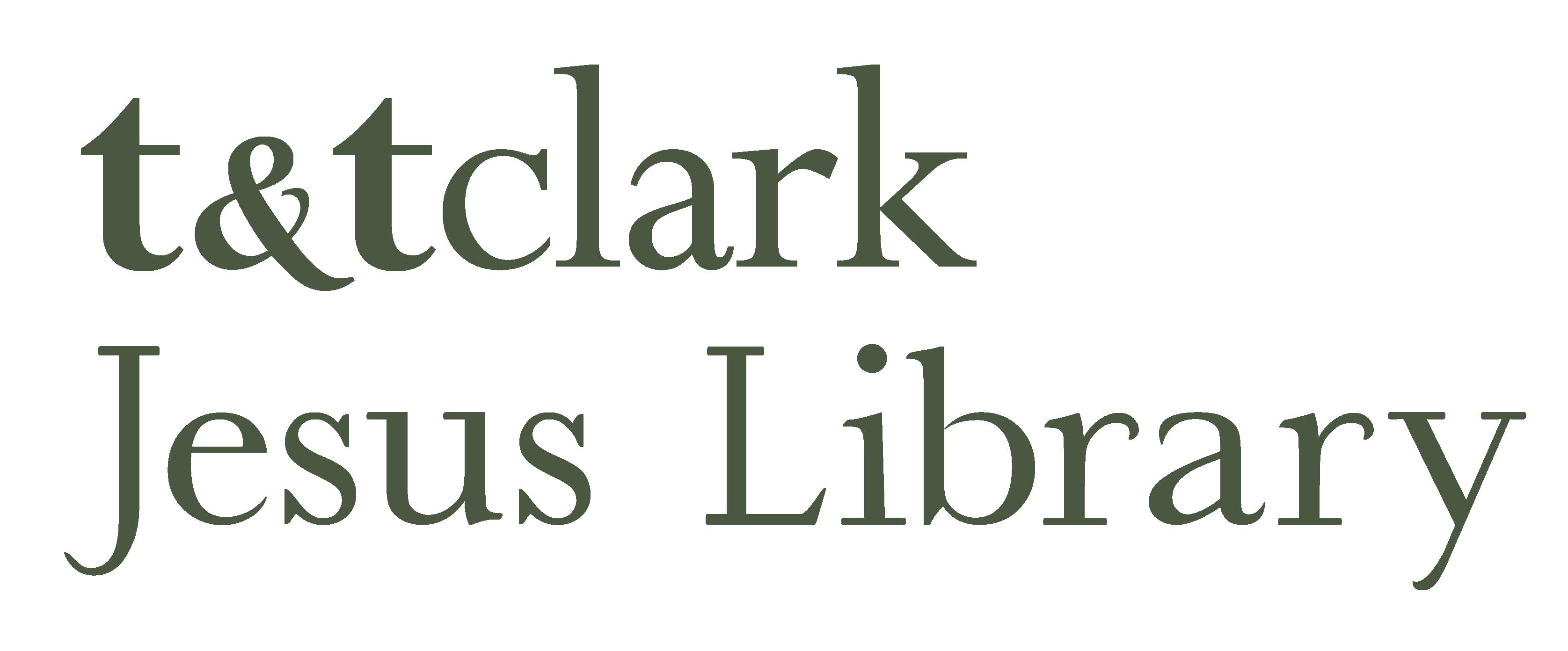 T&T Clark Jesus Library logo