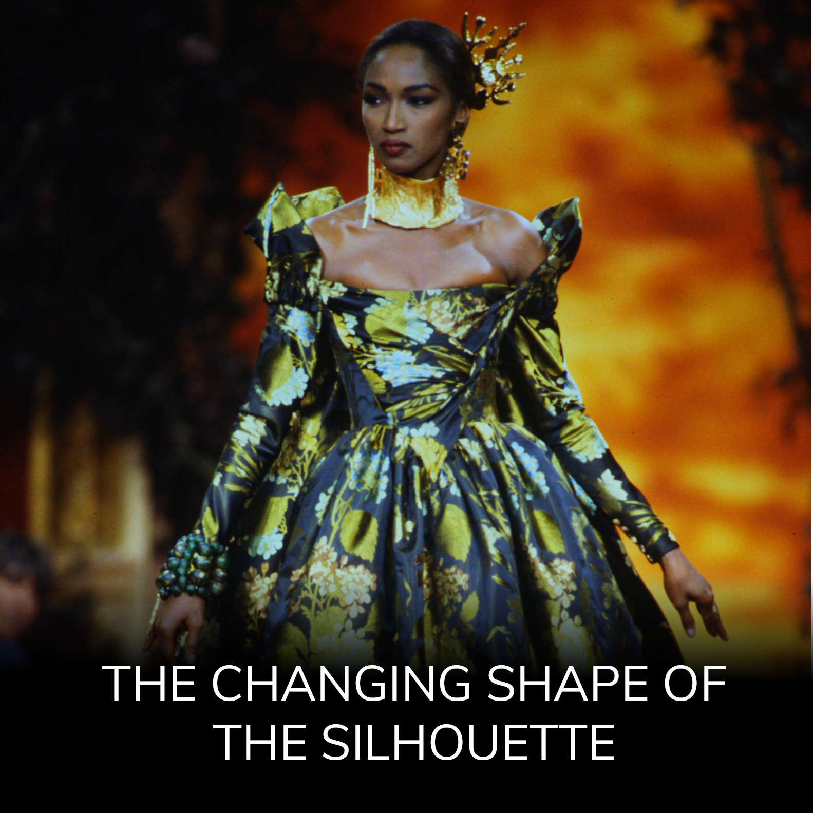 The Changing Shape of the Silhouette in Fashion Shows