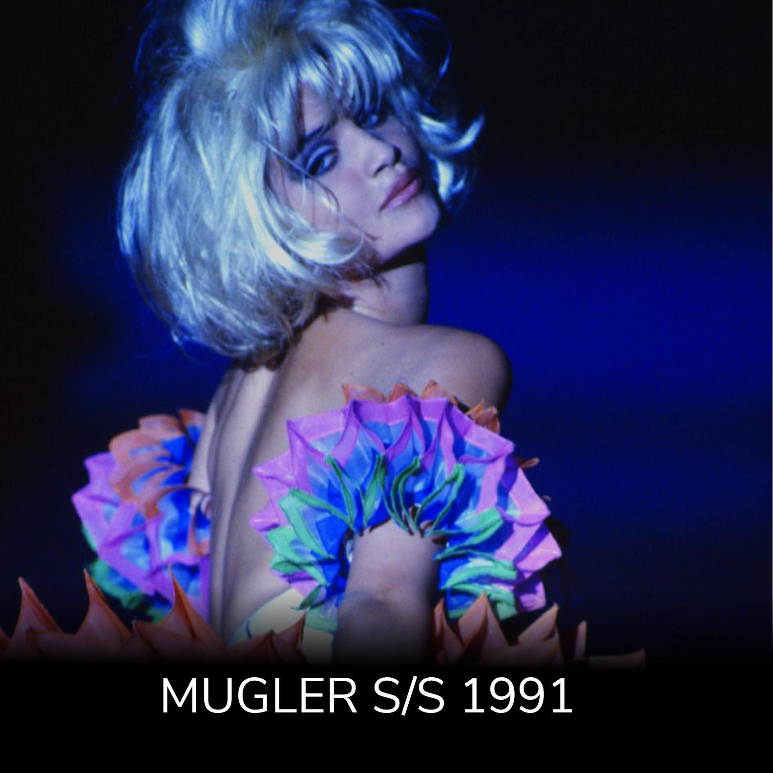 Mugler Spring/Summer 1991