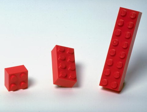Image of three red Lego bricks © Getty / Jay Colton