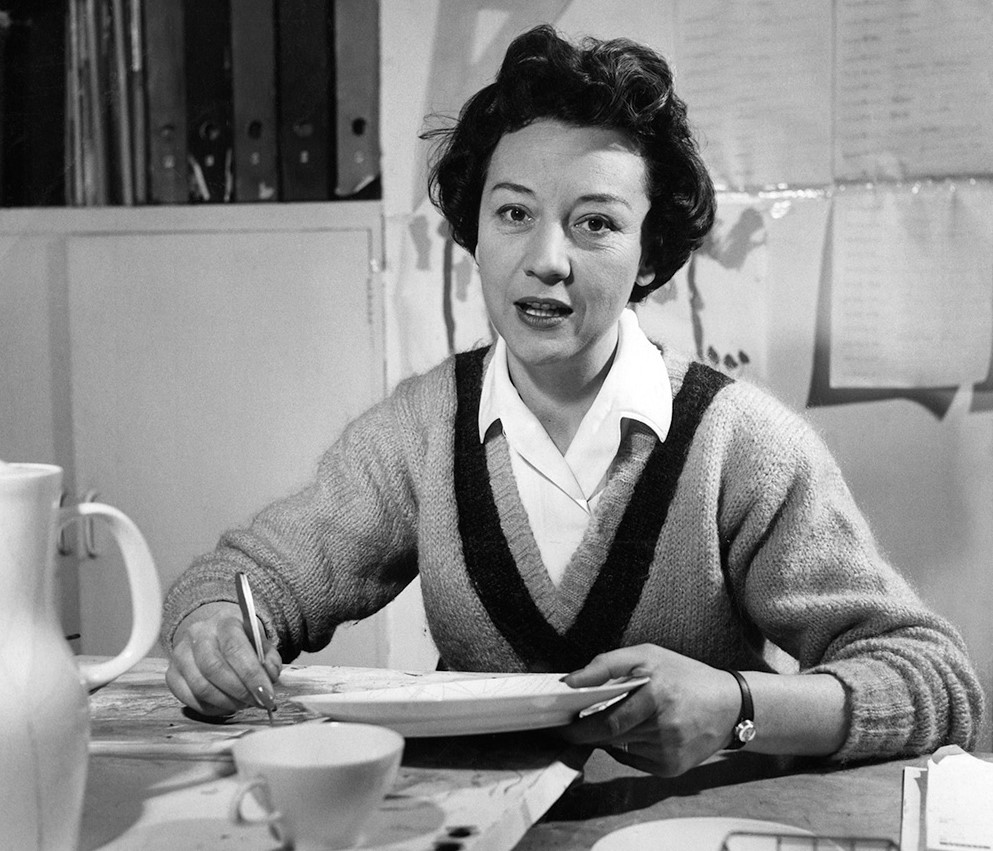 Portrait of Lucienne Day © Design Council/University of Brighton Design Archive