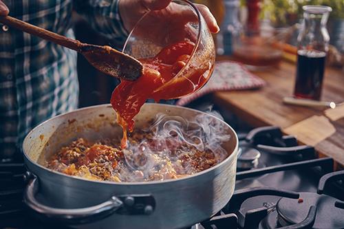 Italian-American food