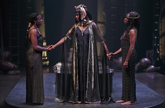 Antony and Cleopatra production image