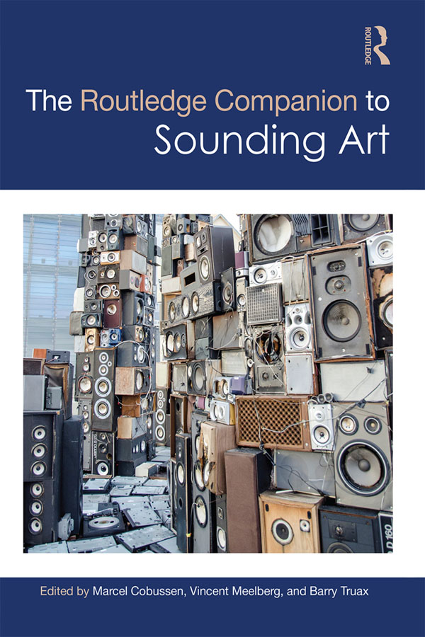 Book cover for The Routledge Companion to Sounding Art