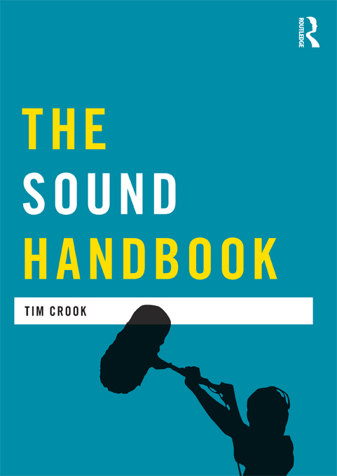 Book cover for The Sound Handbook (Routledge)