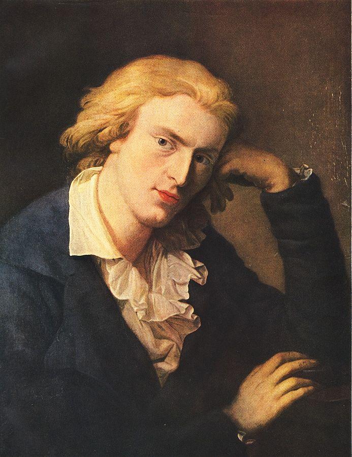 Portrait of Friedrich Schiller by Anton Graff, Public domain, via Wikimedia Commons