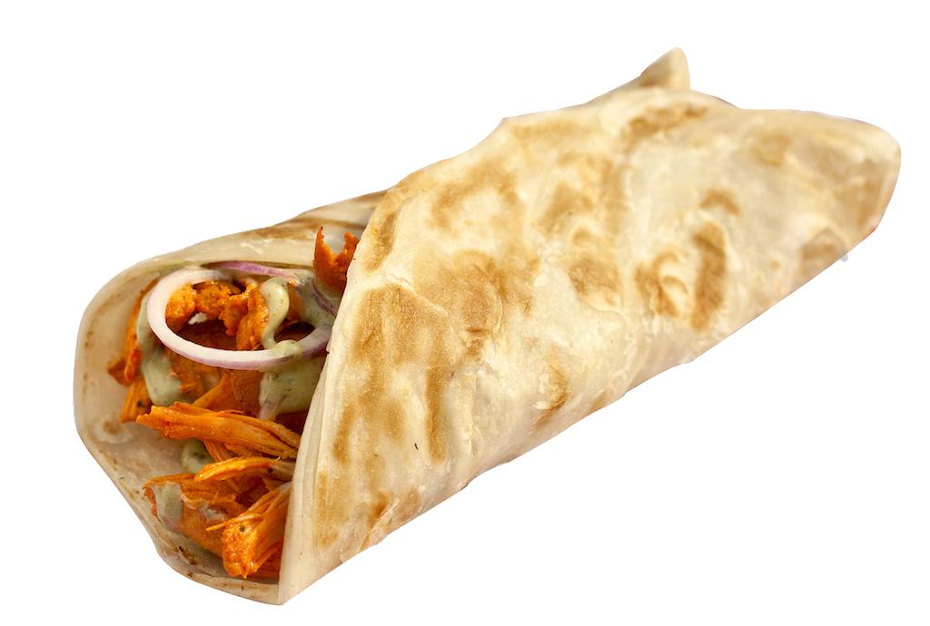 Chicken shawarma roll - photo#52