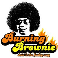 Burning Brownie Blue Area