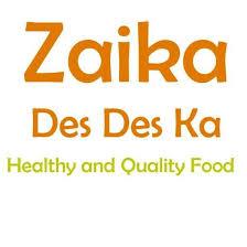 Zaika Des Des Ka Menu