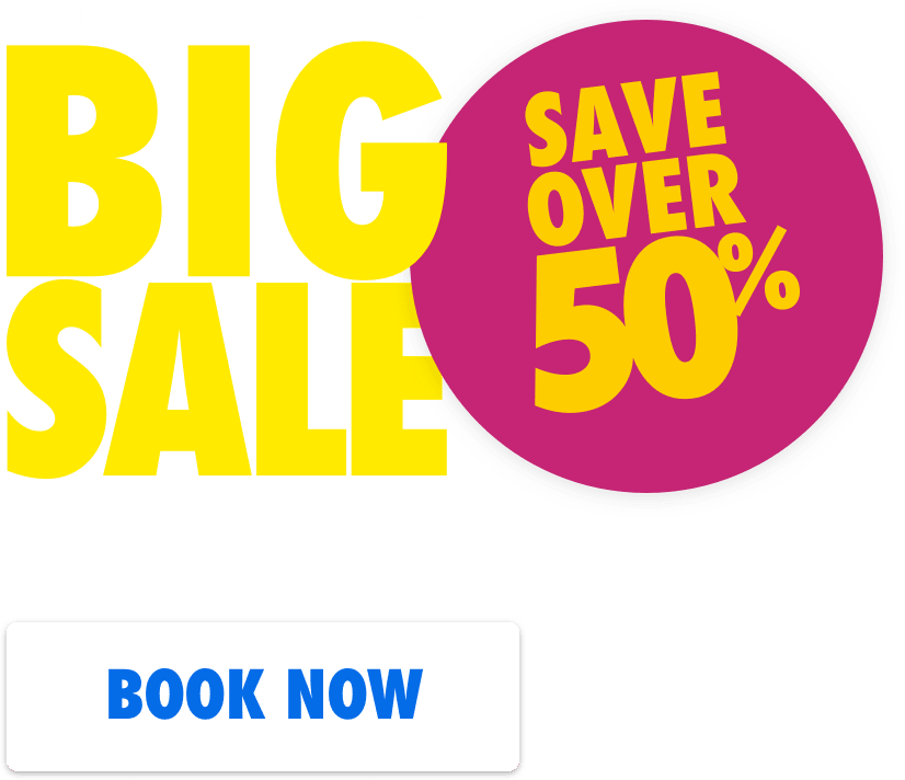 Blue Bay Travel's Big Sale