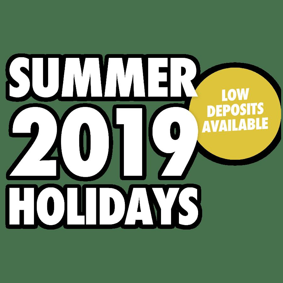 Summer 2019 Holidays