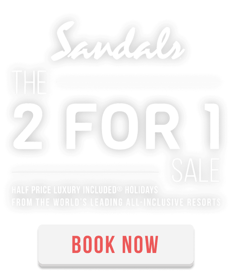 The Sandals 2 for 1 Sale