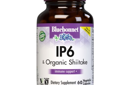 Bluebonnet's IP6 & Organic Shiitake Vegetable Capsules