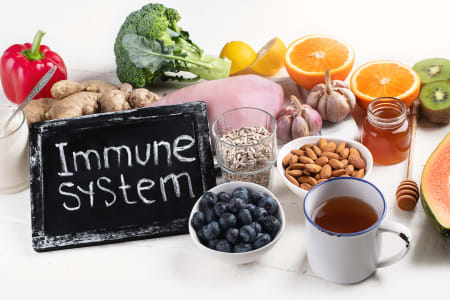 How to Support a Healthy Immune System♦