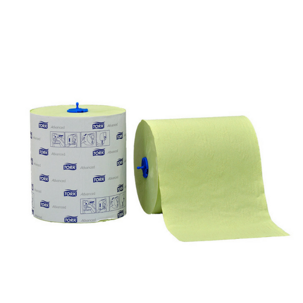 Tork Advanced Towel Rolls, Green