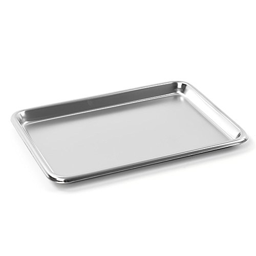 Teqler Stainless Steel Tray 22,5 x 16 x 1,4 cm