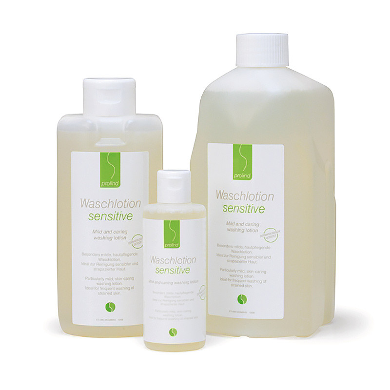 Prolind sensitive washing lotion