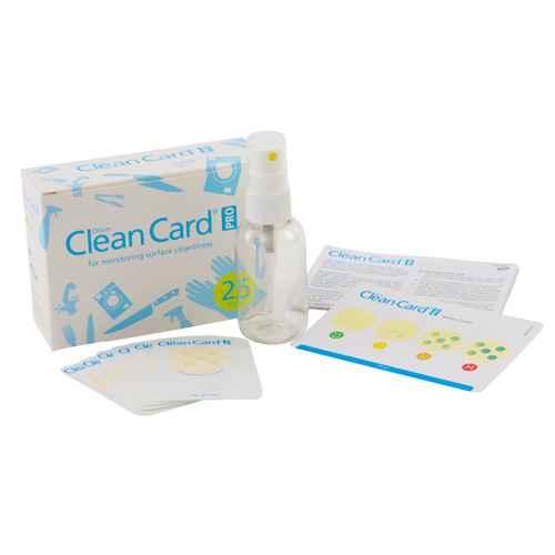 Orion Clean Card Pro, Rapid Hygiene Test