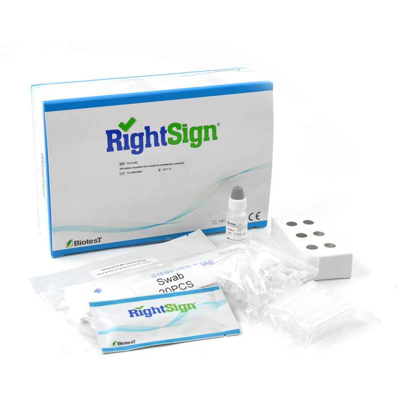 Right Sign Influenza A + B Test