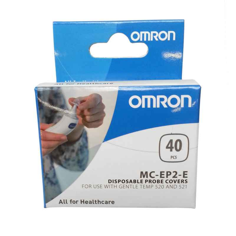 Omron disposable probe covers, box of 40