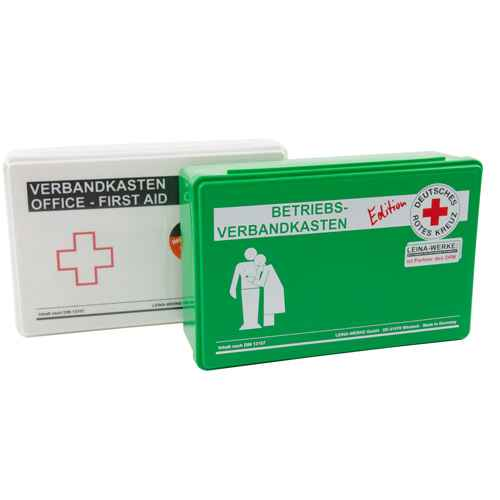 Workplace First Aid Kit in accordance with DIN 13157 white