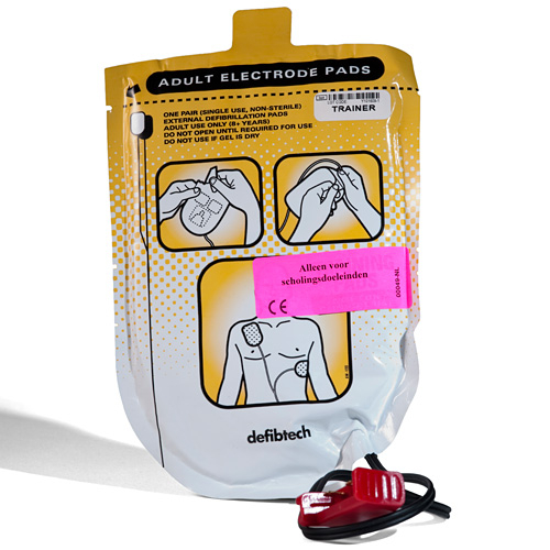 Training Defibrillation Pads for adults