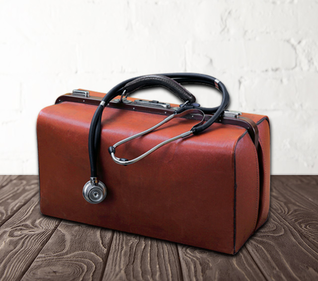Doctors' Bags and Briefcases