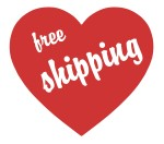 Free shipping with DHL on all orders