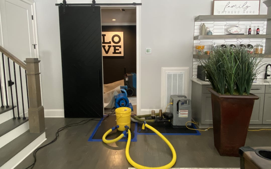 Save Your Hardwood Floors After a Water Damage