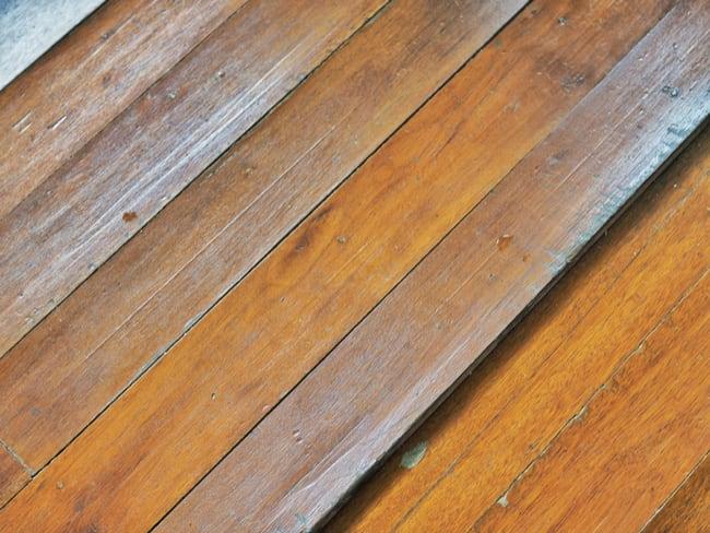 Plank cupping hardwood floors leak image