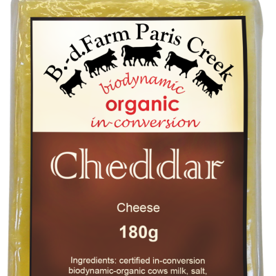 B-d Farm Cheddar 180g