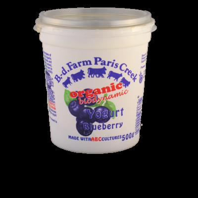 B-d Farm Yoghurt Blueberry 500g