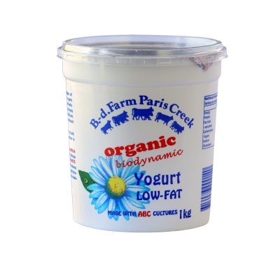 B-d Farm Yoghurt Low Fat 1kg