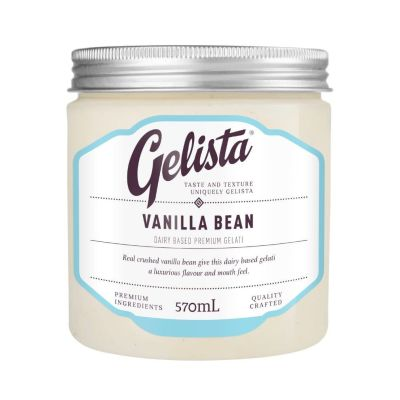 Gelista Vanilla Bean 570ml