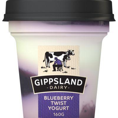 Gippsland Dairy Blueberry Yoghurt 160g