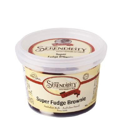 Serendipity Icecream Superfudge Brownie 130ml