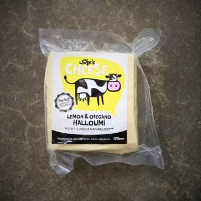 She's Cheese Halloumi Lemon & Oregano 150g