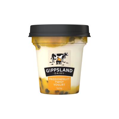 Gippsland Dairy Passionfruit Yoghurt 160g (WA)