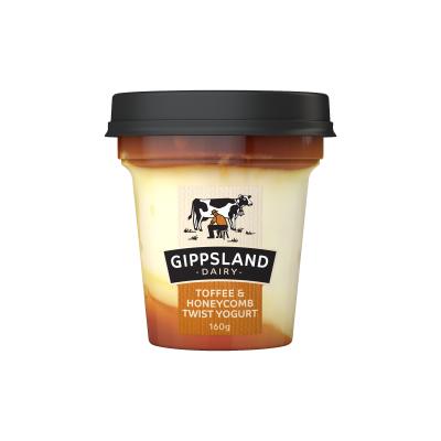 Gippsland Dairy Toffee Honeycomb Yoghurt 160g (WA)