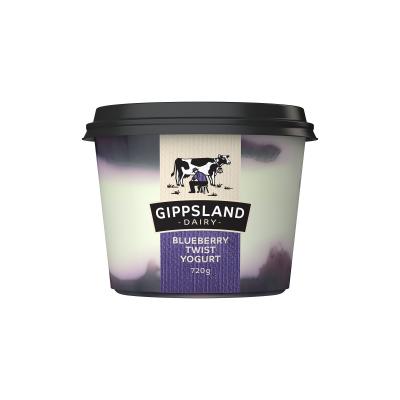 Gippsland Dairy Blueberry Yoghurt 720g