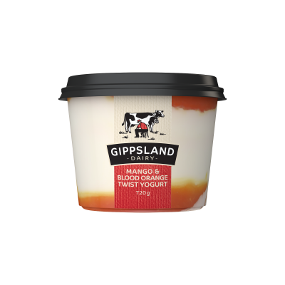 Gippsland Dairy Mango & Blood Orange Yoghurt 720g (WA)