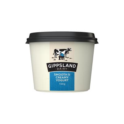 Gippsland Dairy Smooth & Creamy Yoghurt 720g (WA)