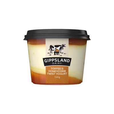 Gippsland Dairy Toffee & Honeycomb Yoghurt 720g (WA)