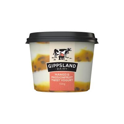 Gippsland Dairy Mango & Passion Yoghurt 720g (WA)