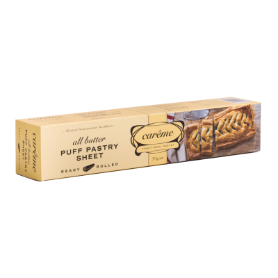 Carême Butter Puff Pastry 375g