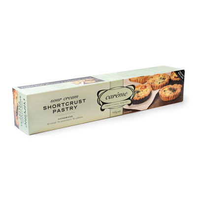 Carême Sour Cream Shortcrust Pastry 445g (WA)